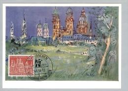 Motiv Maximumkarte 1958-05-29 BRD 800 Jahre München - [7] République Fédérale