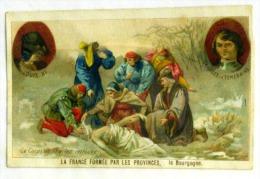 Chromos Chicoree Williot La France Formee Par Les Provinces La Bourgogne 2 Scans - Chromos