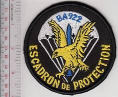 France Arme De L´Air Escadron De Securite Parachutiste Base Aerienne 922 Doullens France Air Force Security Squadron ABN - Patches
