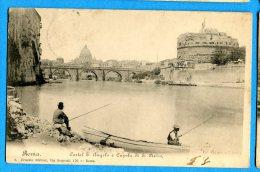 LIP330, Cupola Di San Pietro,  Animée,   Circulée 1903 - Castel Sant'Angelo