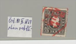 Öst 11 II 1859, Wien , Stempel In Rot
