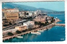 Monaco - Monte Carlo - Le Port, L'avenue De Monte Carlo, Le Quai Des Etats Unis, Le Boulevard Louis II -Editeur: Cigogne - Monaco