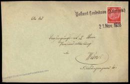 Germany Landskrone Adlergebirge Sudetenland 1938 Annexation Provisional Co 67936 - Unclassified