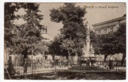 Croatie-POLA-Piazza Alighieri- Animée- CPA- Scans Recto-verso + Detail - Croatia