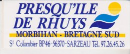 Autocollant Presqu'ile De Rhuys Morbihan Bretagne Sud St Colombier Sarzeau - Autocollants