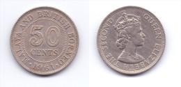 Malaya & British Borneo 50 Cents 1961 H - Malaysie