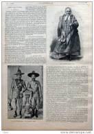 Les Rois De Luang-Prabang - Irène Fédorovna - Page Original  1900 - Documents Historiques