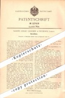 Original Patent - Samuel Henry Crocker In Holborn B. London , 1900 , Plume , Schreibfeder , Feder !!! - Pens