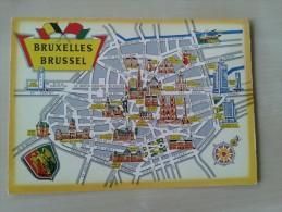 Plan De Bruxelles - Bruxelles-ville