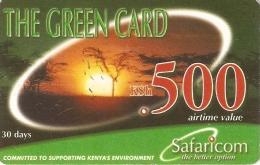 *KENIA* - Scheda Usata - Kenya