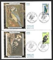 FDC ANDORRE : Faune - Série Complète - 27/10/73 - Très Bon état - FDC