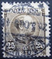 DANEMARK                 N° 45              OBLITERE - 1864-04 (Christian IX)