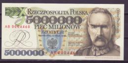 POLAND- POLEN- POLOGNE - 5 000 000 ZLOTYCH 1995 - UNC - Pologne