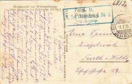 Guerre14-18 Alsace 68 Sengern, Ruines De La Grande Guerre, Circulée - Guerre 1914-18