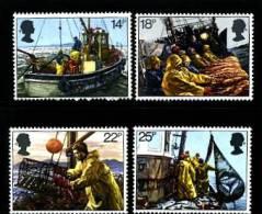 GREAT BRITAIN - 1981  FISHING INDUSTRY  SET MINT NH - 1952-.... (Elisabetta II)