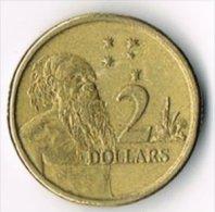Australia 1992 $2 - Decimal Coinage (1966-...)