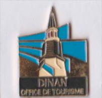 Pin´s Ville De Dinan O.T., Départ Côtes-d´Armor 22100, Métal émail - Cities