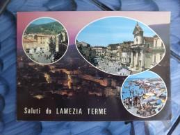 CARTOLINA Di SALUTI DA LAMEZIA TERME VIAGGIATA H909 - Lamezia Terme