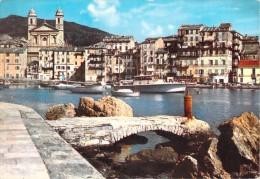 BASTIA LE VIEUX PORT ET L EGLISE SAINT JEAN BAPTISTE - Bastia