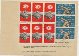 DDR Telegramm Bergen 19.12.78 , 1,80 Mark Mif. Mi.1660,1667 N. Erfurt (1) - [6] République Démocratique