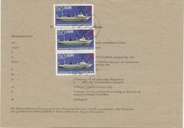 DDR Telegramm Bergen 27.5.86 1,50 Mark Mef. Mi.3004 N.Berlin (5) - [6] République Démocratique