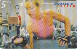 SWITZERLAND - 19:00 Gym, Berne, 12/00, Used - Suisse