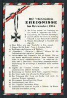 WW1 Germany Kriegsereignisse Flag Postcard December 1914 - Patriotic