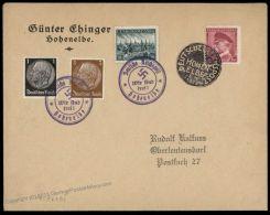 3rd Reich Germany Reichspost Hohenelbe Sudetenland 1938 Annexation Provisi 70176 - Unclassified