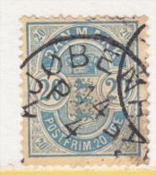 DENMARK   48   PERF 13   (o)  Wmk 112  1895-1901  Issue - 1864-04 (Christian IX)