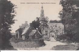 Cp , 29 , CHÂTEAULIN , Église Notre-Dame - Châteaulin