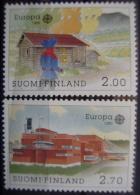 EUROPA CEPT - FINLANDIA AÑO 1990 - IVERT Nº 1074/75 - SELLOS NUEVOS (**) SIN FIJASELLOS - Europa-CEPT