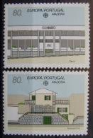 EUROPA CEPT - MADEIRA AÑO 1990 - IVERT Nº 140/41 - SELLOS NUEVOS (**) SIN FIJASELLOS - Europa-CEPT