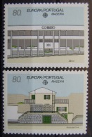 EUROPA CEPT - MADEIRA AÑO 1990 - IVERT Nº 140/41 - SELLOS NUEVOS (**) SIN FIJASELLOS - 1990