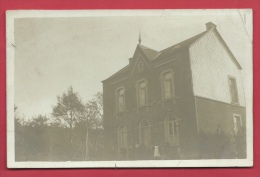 Charneux- L' Ecole- Carte Photo -1909 - Nassogne