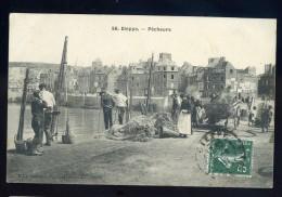 Cpa Du 76 Dieppe Pêcheurs           FRM 9 - Dieppe