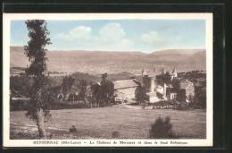 CPA Retournac, Le Château De Mercuret Er Dans Le Donf Retournac - Retournac
