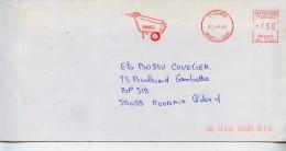 EMA Satas SL-0134,DIMACO,appareil Sur Roue,nettoyeur Haute Pression,37 Chinon,Indre Et Loire,lettre 20.6.1984 - Verkehr & Transport