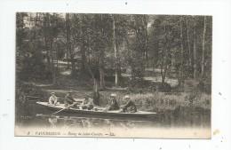 Cp , 92 , VAUCRESSON , étang De SAINT CUCUFA , Barque , écrite 1915 - Vaucresson