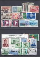 ISLAND 1920 TO 1989  COLLECTION STAMPS  ** PLEASE SEE DESCRIPTION - Collections, Lots & Series