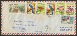Marcophilie Enveloppe 1963 Malagasy Madagascar - Madagaskar (1960-...)