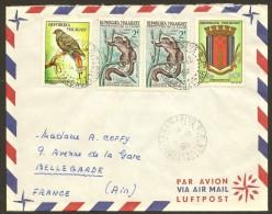 Marcophilie Enveloppe Tananarive Malagasy Madagascar - Madagascar (1960-...)
