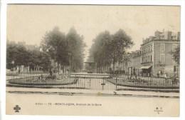 CPA PIONNIERE MONTLUCON (Allier) - Avenue De La Gare - Montlucon