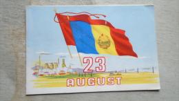 Propaganda   23 August  UVA  Arad Train Factory -   D130729 - Documenti Storici