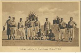Ohrdruf Gefangene Zuaven Im Truppenlager Zouaves Prisonniers Guerre Guerre 1914 WWI Edit Emil Meiner - Allemagne