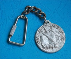 Italia - Key Ring - A.N.P.I - ORA E SEMPRE REZISTENZA - SEZ. MARTIRI DEL TURCHINO - Militari