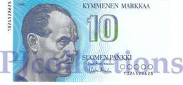 FINLAND 10 MARKKAA 1986 PICK 113a UNC - Finland