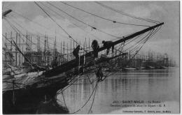 Saint Malo Ille Vilaine Préparatifs Départ Terre Neuvier Neuva 1916 état Superbe TOP+++ - Saint Malo