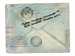 !!! LIGNE NOGUES : VOL DU 12/08/1932, ACCIDENT DE MEDAWAR - GRIFFE DU COMPOSTEUR - Marcophilie (Lettres)