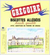 Biscottes   GREGOIRE Château De  LA MALMAISON    état Aussi Neuf Qu´au Sortir De L´imprimerie - Biscottes
