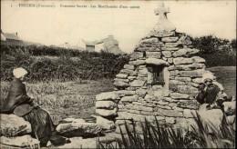 29 - TREZIEN - Commune De Plouarzel - Fontaine Miraculeuse - Marchande D'eau Sainte - France